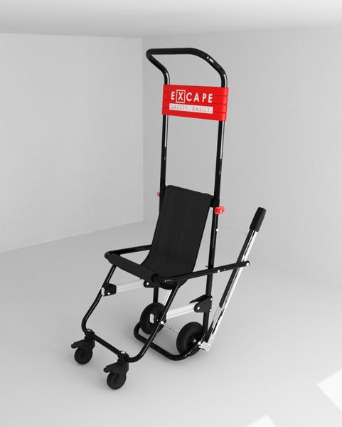 Sedia di evacuazione disabili Excape