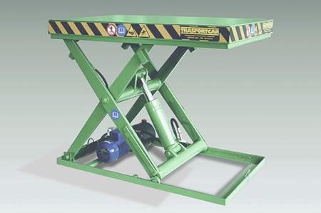 Piattaforma elevatrice a pantografo
